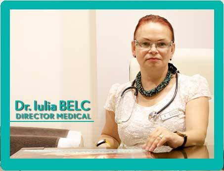 Iulia Belc durector medical premier spa