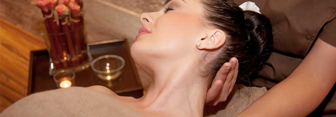 neck back & shoulders premier spa