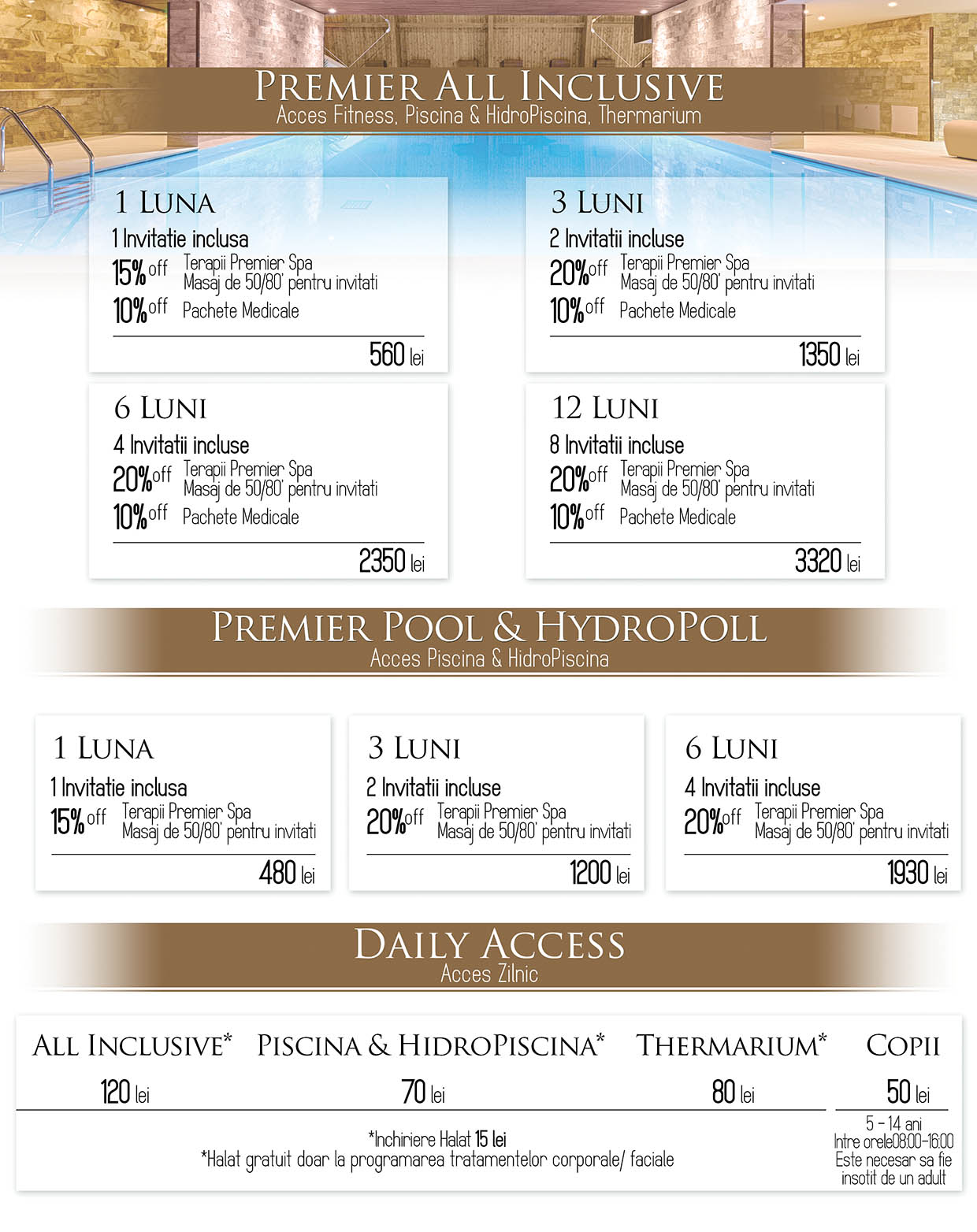 Premier Spa Rates Premier All Inclusive