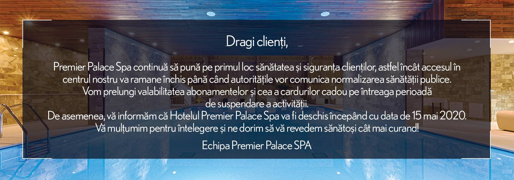 Tombola de Craciun Premier Spa